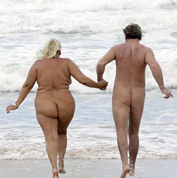 фото нудистов толстых